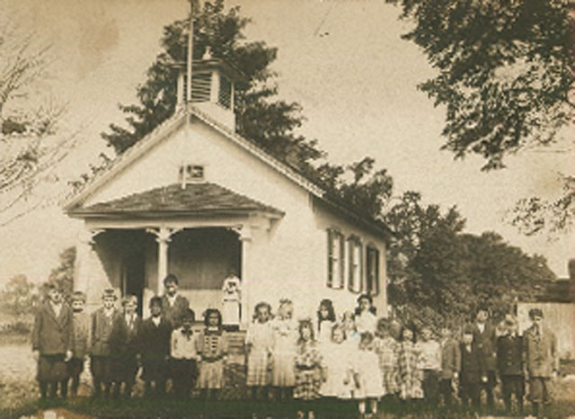 Old South School as it looked in the late 1800s.